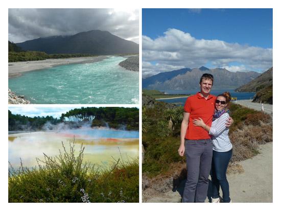 Rotorua, Wanaka lake, voda z ľadovca